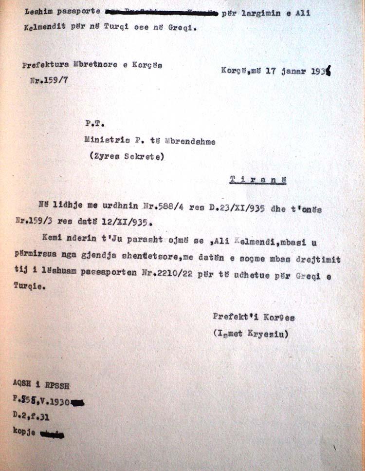 ALI KELMENDI, 3