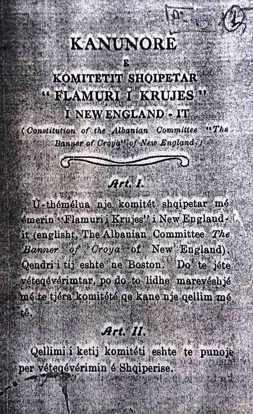 FLAMURI I KRUJES, 1